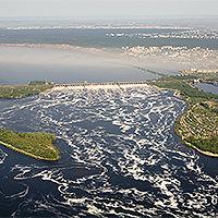 ЖИГУЛЁВСКАЯ ГЭС. Является шестой ступенью и второй по мощности ГЭС Волжско-Камского каскада.